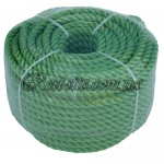 Фал для якоря 8мм. зеленый
