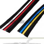 Привальный брус трехцветный с отбойником 10см