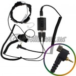 Гарнитура с ларингофоном A-02 PROFESSIONAL одноштыревая с винтом (MOTOROLA)