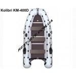 Килевая надувная моторная лодка Kolibri KM-400Д