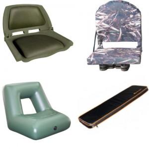 Кресла и сиденья для надувных лодок